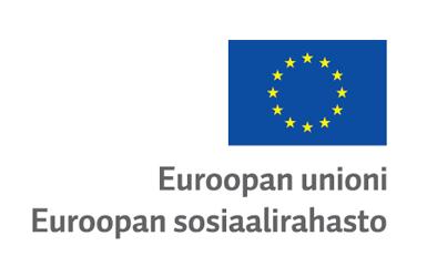 Euroopan sosiaalirahasto -logo